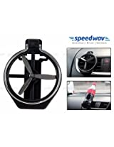 Speedwav Car A/C Vent Drink / Can / Glass / Bottle Holder With FAN