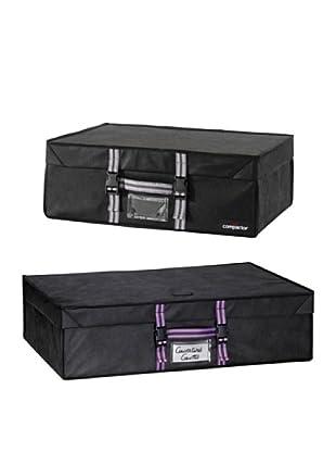 Compactor Set 2 Caja Family Con Funda Ahorraespacio Integrada