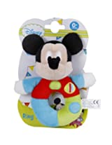 Disney MBE-WDP0228 Mickey Ring Rattle 6-inch