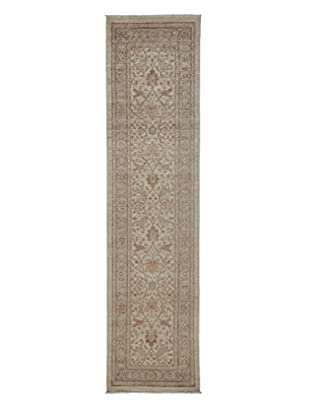 Darya Rugs Fine Oushak Oriental Rug, Ivory, 2' 5