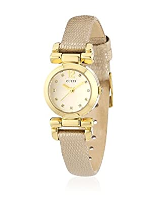 Guess Quarzuhr Woman W0125L4 goldfarben one size