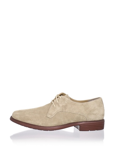 Hush Puppies Men's Hackman Oxford Shoe (Stone Suede)
