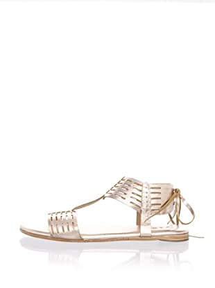 Fiel Women's Todo Santos Aztec Sandals (Rose Gold)