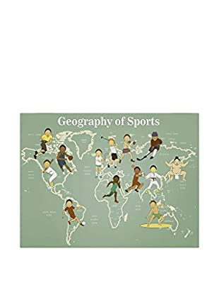 Really Nice Things Poster Geography Sports
