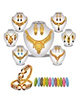 Aishwarya 1 Gram Gold Plated Designer Jewellery Collection - By Variation