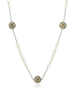 Belargo Round Maltese Link Necklace