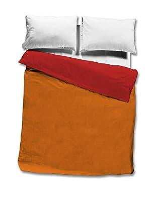 Nido Saco Nórdico 100% Algodón (Naranja / Rojo)