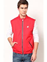 Red Sweat Jacket