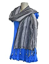 Sofias Exclusive Viscose Woven Medium Shawl,Size-70 cms x 200 cms,Color-Multi