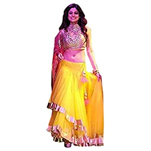 Samita setty Inspired Bollywood Designer Indian Traditional party wear Lehnga