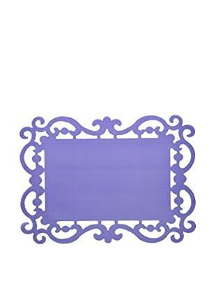 Bitossi Home Set Tisch-Untersetzer Set 12 Tovagliette Cm 44X32 Baroque purpur 44 x 32 cm