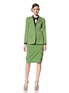Magaschoni Women's Blazer (Jade)