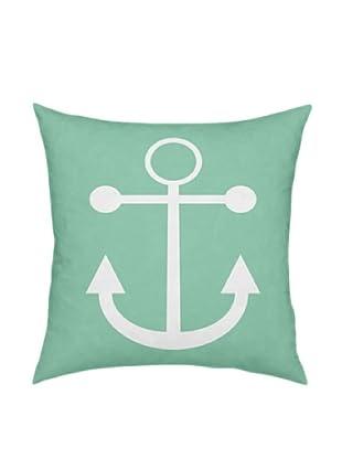 ArteHouse Green Anchor Pillow