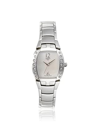 Tissot Women's T0533106111200 Femini-T Mother of Pearl Stainless Steel Watch