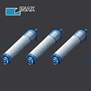 【クリックで詳細表示】イナックスINAXオールインワン浄水器交換用カートリッジJF-21-T(3個セット)