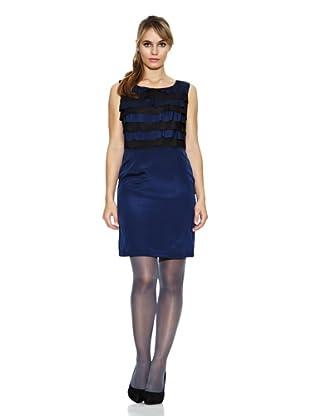 Strena Vestido Ginette Cremallera (Azul)