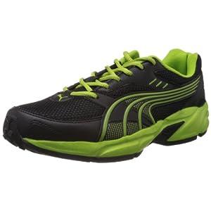 Puma Men's Atom Fashion Black Mesh Sport Running Shoes - 9 UK/India (43 EU)