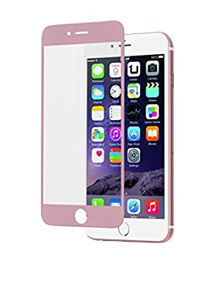 UNOTEC Schutzfolie Full Cover Lite iPhone 6/6S rosa