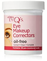 Andrea Eye Qs Make Up Correctors Swabs 50s (Case Of 6)