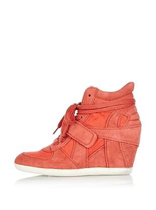 Ash Zapatillas de Cuña Bowie (Coral)