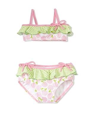 Azul Swimwear Girl's Sugar Rash Bikini (Pink)