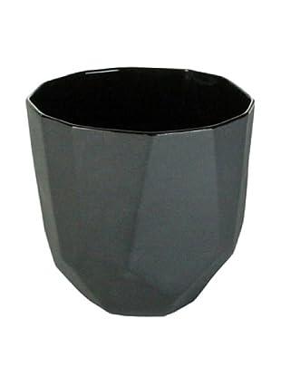 HomArt Medium Quartz Faceted Ceramic Bowl