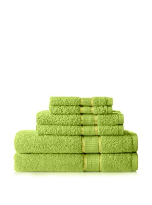 Espalma Ambassador 6-Piece Towel Set, Lime