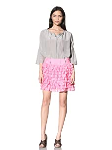 Calypso St. Barth Women's Sweet Tart Skirt (Pink)