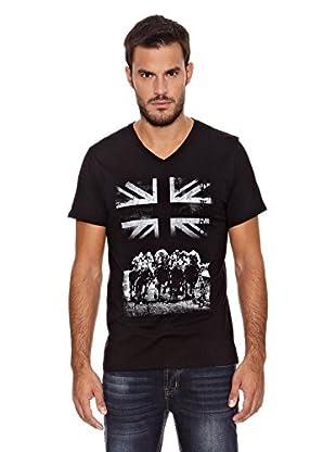 Paul Stragas Camiseta Martin (Negro)