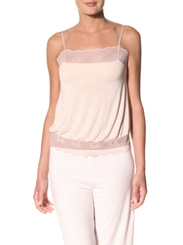 Eberjey Women's Sabrina Cami with Built-In Bra (Dusty Pink)