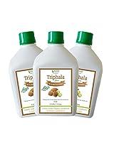 Bhumija Lifesciences Triphala Juice (Sugar Free) 1 L (Combo Pack of Three)
