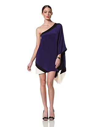 Jay Godfrey Women's Hopper One Shoulder Kimono Dress