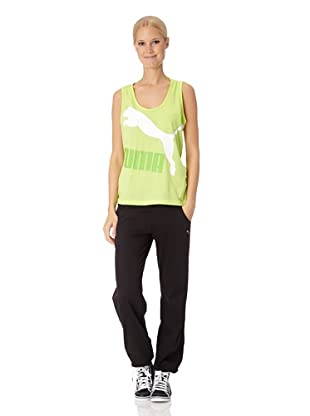 Puma Damen Tank Top Logo (sharp green)