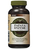 GNC Natural Brand Papaya Enzyme, Chewable Tablets, 240 ea