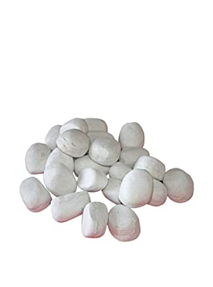 PURLINE Piedras decorativas color blanco WINCBTOUT-05