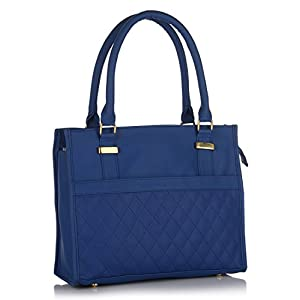 Blue Quilted Handbag P.H.A.T