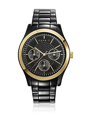 Esprit Reloj con movimiento japonés Woman Dorado / Negro 36 mm