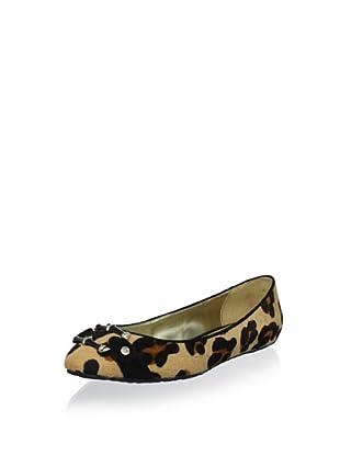 Elaine Turner Women's Liz Ballet Flat (Cheetah)