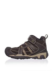 Sperry Top-Sider Kid's Amberjack Boot (Toddler/Little Kid/Big Kid) (Dark Brown/Moab)