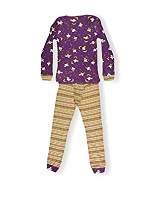 CUSTO GROWING Pijama Namaste Monkeys