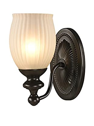 Artistic Lighting Park Ridge 1-Light LED Sconce, Oil Rubbed Bronze
