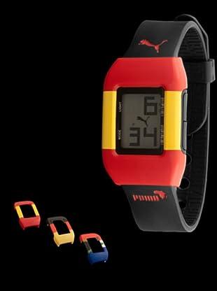 Puma PU910751008 - Reloj world cup España / Alemania / Sudáfrica negro