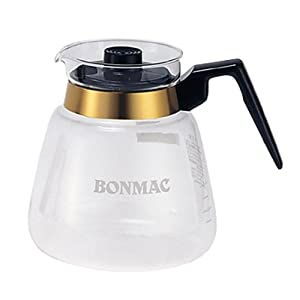 【クリックで詳細表示】bonmac コーヒーサーバー 【8杯用・1200ml】 CS-8 #814402: ホーム&キッチン