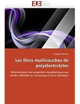 Les Films Multicouches de Polyelectrolytes (Omn.Univ.Europ.)