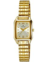 Titan Karishma Analog Multi-Color Dial Women's Watch - NE2488YM01