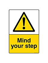 Mind Your Step, (CW607-A4AL-01), Material: Aluminium