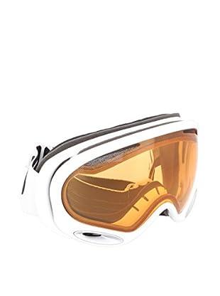 Oakley Máscara de Esquí A-Frame 2.0 MOD. 7044 CLIP59-631 Blanco / Marrón