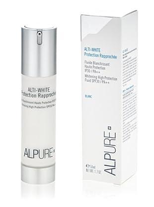 Alpure Protector líquido brillante UVA y UVB High-White 50 ml