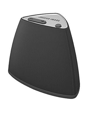 Sharper Image Vela Wireless Bluetooth Mini Speaker with Built-In MIC (Black)