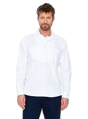 Cortefiel Hemd Sport (Weiß)